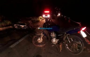 Ciclista vendedor de açaí morre em colisão com moto após a ponte do Rio Madeira