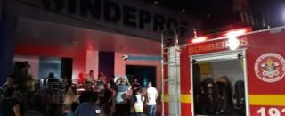 Incêndio atinge sede do Sindicato dos Servidores Municipais de Porto Velho