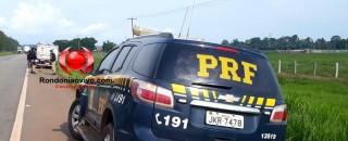 Motorista foge após atropelar e matar trabalhador na BR-364 em Porto Velho