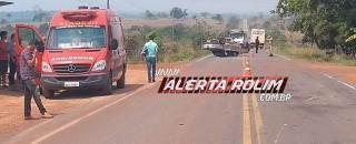 Nova Estrela - Colisão entre dois veículos é registrada na RO-010 e resulta em cinco vítimas...