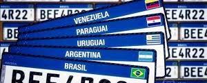 Placa para veículos com padrão Mercosul é lançada no Rio de Janeiro