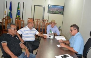 Presidente da Câmara Francisco Venturini recepciona Deputado Luiz Cláudio