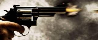 Rolim de Moura - Bandido invade quintal e atira em porta de residência no Bairro Cidade...