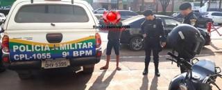 ROUBADA: Adolescente flagrado com moto de sargento da PM diz que comprou por R$ 300