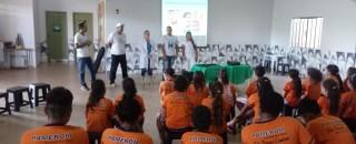 Saúde de Rolim de Moura realizou palestras educativas na pastoral da criança Daniel Comboni