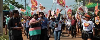 Senador Raupp reafirma em caminhada que Porto Velho terá seu polo industrial