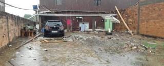 Temporal deixa rastro de destruição em Jaru; fotos