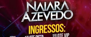 Naiara Azevedo fará show em Rolim de Moura no dia 1º de Novembro