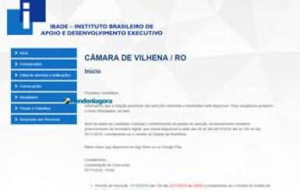 Inscrições para concurso da Câmara de Vilhena seguem abertas até o dia 20; salários chegam a R$ 4 mil