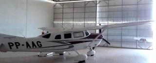 Investigação conjunta resulta na prisão do suspeito do furto de avião