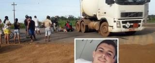Jovem que sonhava em ser policial morre após trágica colisão entre moto e carreta na BR-364,...