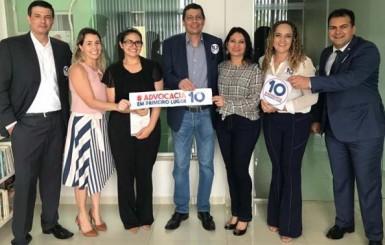 OAB: Rolim de Moura lança chapa única, conhece propostas para subseção e reforço dos compromissos de Elton Assis