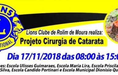Rolim: Lions Clube realiza