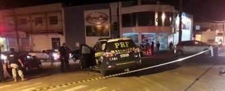 Viatura da PRF se envolve em acidente com vítima em Ji-Paraná, RO