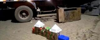 Caminhão de Rondônia é apreendido com quase 3 milhões em cocaína em Minas Gerais