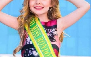 Isabelle Nicole é eleita Mini Miss Brasil 2018