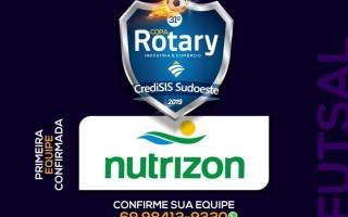Nutrizon é a primeira equipe a se inscrever na 31ª Copa Rotary/CrediSiS Sudoeste