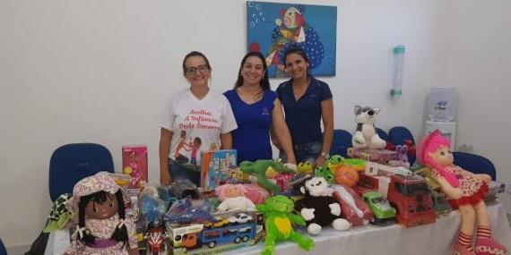 Rolim: Unopar doa brinquedos para Secretaria de Assistência Social