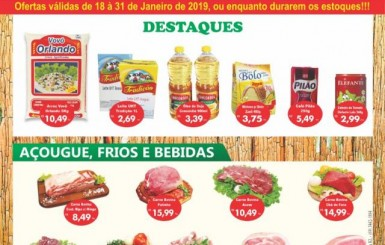 18 a 31/01: Confira as ofertas do Atacarejo Santa Helena