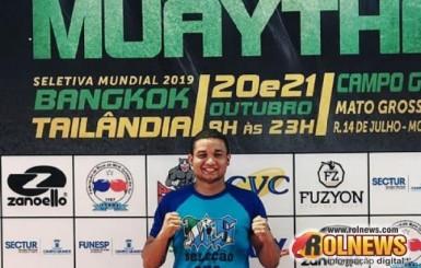 Atleta de Rolim de Moura é convocado para campeonato mundial de artes maciais e precisa de ajuda com despesas