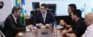 Governador Marcos Rocha discute continuidade de obras do Estado nos municípios de Ariquemes e Pimenta Bueno