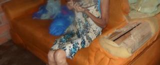 Idosa cega é encontrada pela PM trancada em casa e sem comida em Rolim de Moura