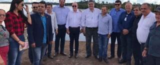 Jean Oliveira participa do ato de assinatura da Ordem de Serviço para início da obra de...