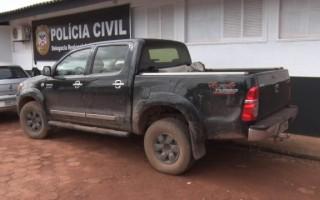 Motorista é baleado e três assaltantes são presos após roubarem caminhonetes em RO