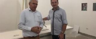 Prefeito, vice-governador e empresários garantem a instalação do Aparelho de Raio-X no HM