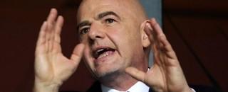 Presidente da Fifa diz que sede da Copa de 2022 pode ser dividida