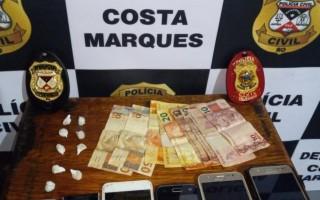 Costa Marques: Mulher é presa acusada de tráfico de drogas