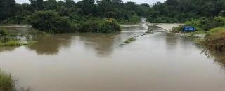 Ponte segue submersa e tráfego na RO-459 deve ser liberado só no final de 2019, diz...