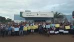 População se manifesta contra preço da energia em Rolim