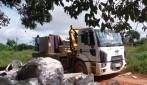 Rio Machado volta a subir e a desabrigar famílias em Ji-Paraná
