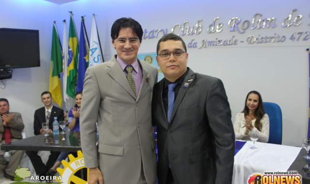POSSE DA NOVA DIRETORIA (2016-2017) DO ROTARY CLUB
