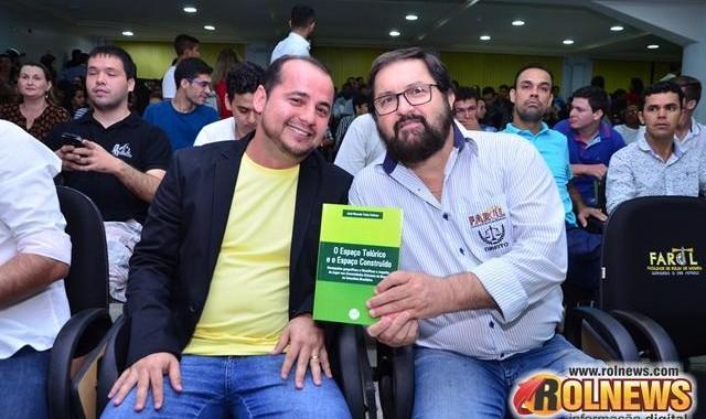 LANÇAMENTO DE LIVRO DO PROF. JOSÉ RICARDO TELES