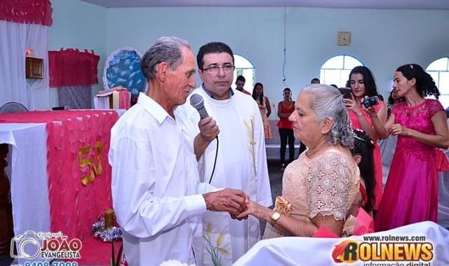 CERIMÔNIA BODAS DE OURO, POR JOÃO EVANGELISTA