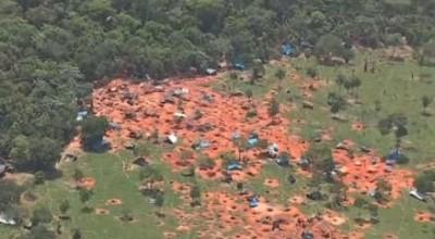 PF implode área de garimpo ilegal no Mato Grosso