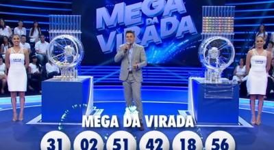 Confira os números sorteados na Mega da Virada