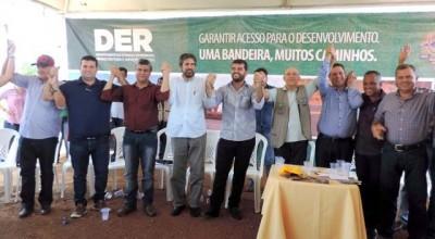 Maurão participa de inauguração de ponte no rio Machadinho