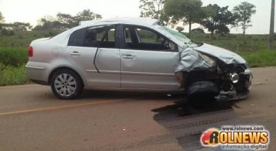 Moradora de Alta Floresta morre em acidente na RO-479, em Rolim de Moura