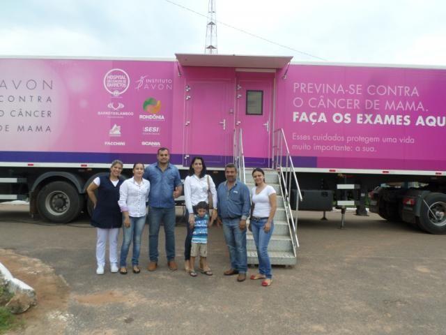 Carreta do Hospital do Câncer de Barretos inicia atendimento em Seringueiras