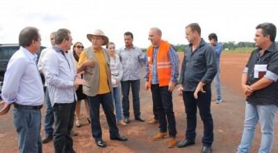 Governo anuncia pavimentação da pista do aeroporto de Rolim de Moura