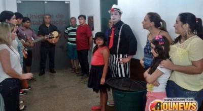 Rolim:Grupo de voluntários leva alegria e diversão aos pacientes do hospital municipal