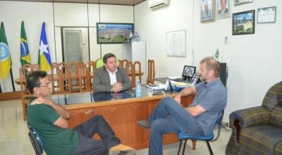 Presidente da Câmara de Rolim, Vereador Juninho, recebe a visita do Presidente Estadual do PSDC