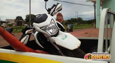 Rolim de Moura:Motociclista sofre traumatismo craniano em grave acidente