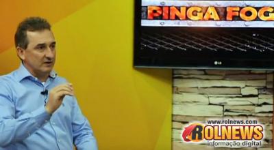 Rolim:Na TV, Luizão comenta sobre crítica de Cesar Cassol: 'o caminho não é esse'