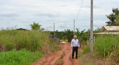Rolim:Travessão da Pamonharia é contemplada com expansão da rede de energia elétrica