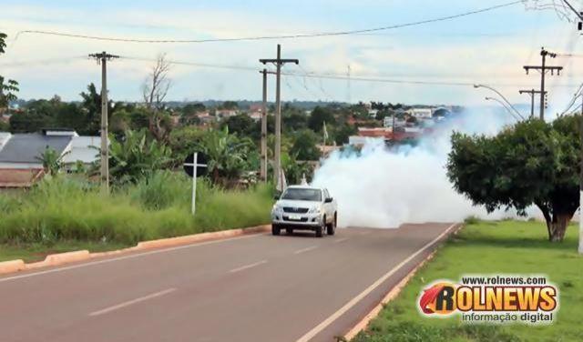 Veículo com fumacê deverá permanecer em Rolim de Moura pelo tempo que for necessário