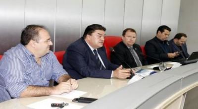 Comissão de Saúde da ALE recebe e aprova pedido de vistoria no hospital de Vilhena